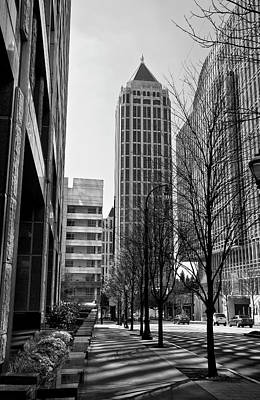 Photograph - One Atlantic Center In Black And White by Jill Lang