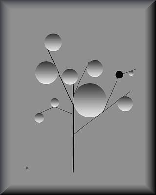 Digital Art - One Bad Apple by John Krakora