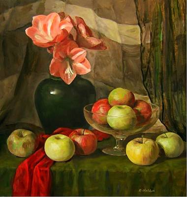 Painting - One Bad Apple by Robert Holden