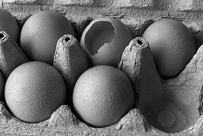 One Bad Egg Art Print