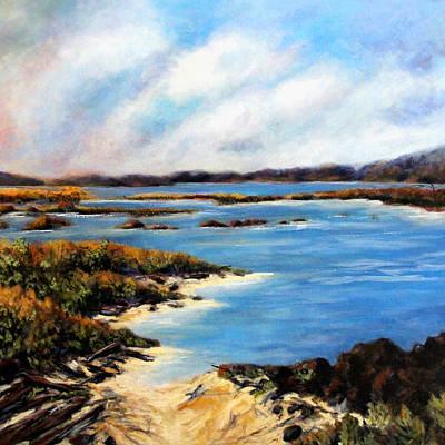 One Beach Washington Art Print by Marti Green