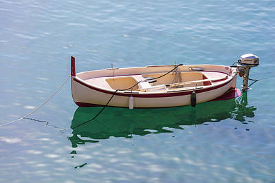 Photograph - One Boat In Italy  by John McGraw
