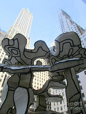 Photograph - One Chase Manhattan Plaza 3 by Randall Weidner