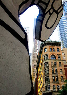 Photograph - One Chase Manhattan Plaza 4 by Randall Weidner
