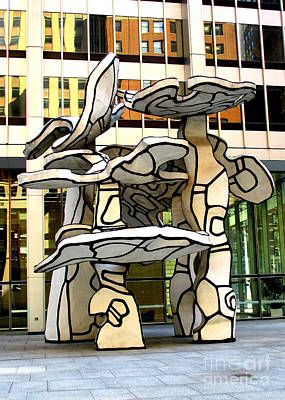 Photograph - One Chase Manhattan Plaza 5 by Randall Weidner