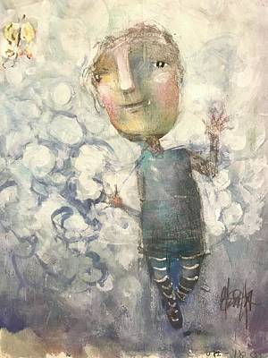 Mixed Media - One Day At A Time by Eleatta Diver