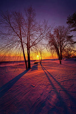 Print featuring the photograph One Day Closer by Phil Koch