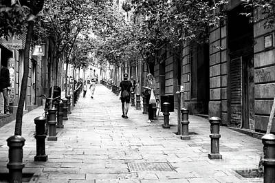 Photograph - One Day In The Gothic Quarter by John Rizzuto