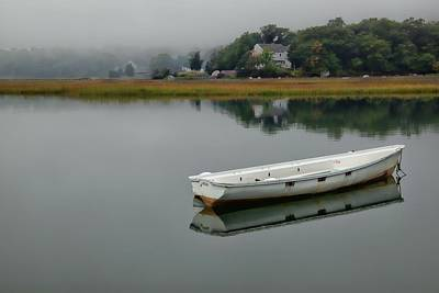 Photograph - One Dinghy by Patrice Zinck