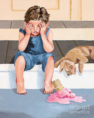 One Door Closes One Door Opens Art Print by Jennifer  Donald