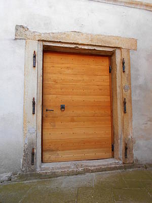 Photograph - One Door Of The Medieval Fortress by Erika H