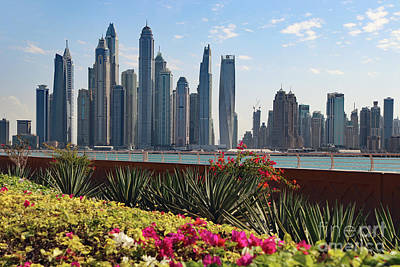 Photograph - One Dubai Skyline by PJ Boylan