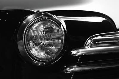 Photograph - One-eyed Chevy by Mark David Gerson