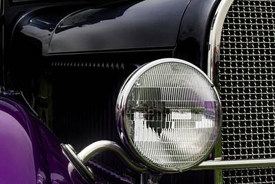 Photograph - One-eyed Ford by Mark David Gerson