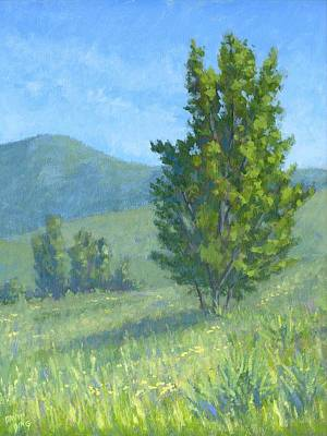 Painting - One Fine Spring Day by David King