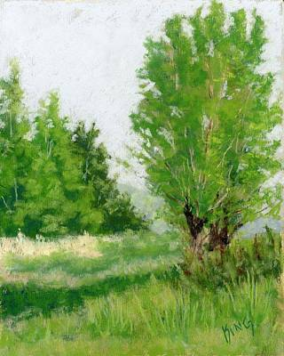 Painting - One Fine Spring Day Study by David King