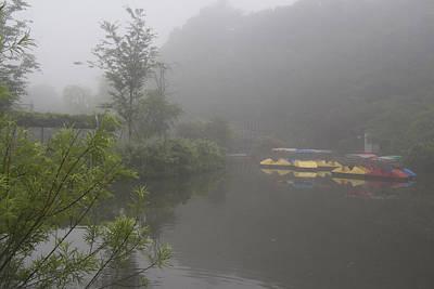 Photograph - One Foggy Morning by Masami Iida