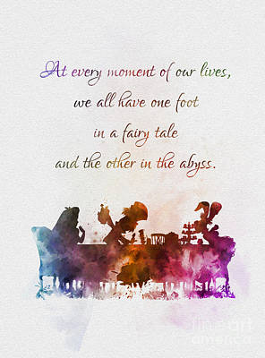 One Foot In A Fairy Tale Art Print