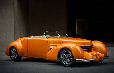 Digital Art - 1937 Cord Speedster by Douglas Pittman