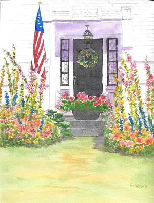 Painting - One Front St Rollinsford Nh by Roseann Meserve