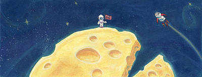 Pastel - One Giant Leap by Athena Lutton