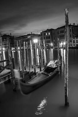 Photograph - One Gondola In Venice  by John McGraw