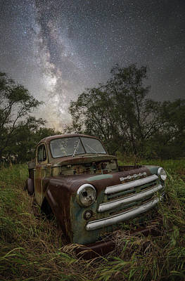 Photograph - One Headlight  by Aaron J Groen