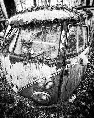 Photograph - One Headlight by Alan Raasch