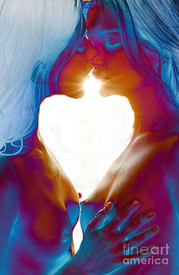 Painting - One Heart by Thomas Oliver