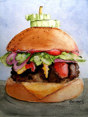 Painting - One Hearty Meal by Carol Grimes
