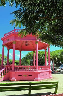 Photograph - One Hot Pink Pavilion by Kirsten Giving