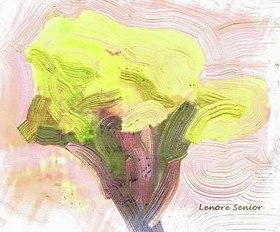 Painting - One Iris Is The Bouquet by Lenore Senior
