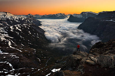 Climb Photograph - One by Krzysztof Browko
