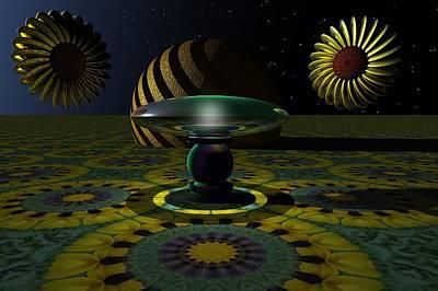 Kaleidoscope Digital Art - One Last Dream Before Dawn by Lyle Hatch