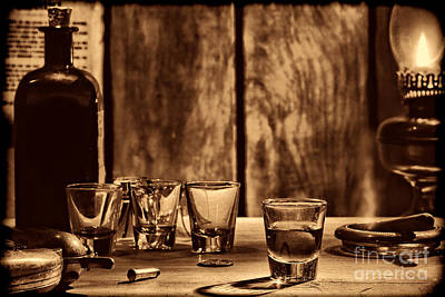 Photograph - One Last Drink by American West Legend By Olivier Le Queinec