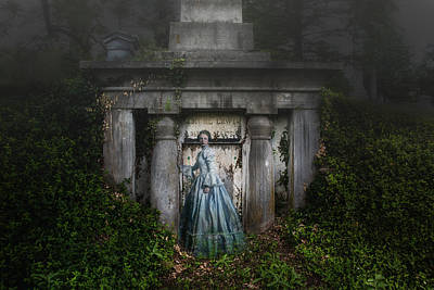 Eerie Photograph - One Last Look by Tom Mc Nemar