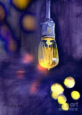 Painting - One Light 2 by Allison Ashton
