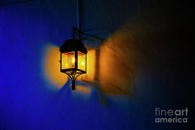 Photograph - One Light by Rick Bragan