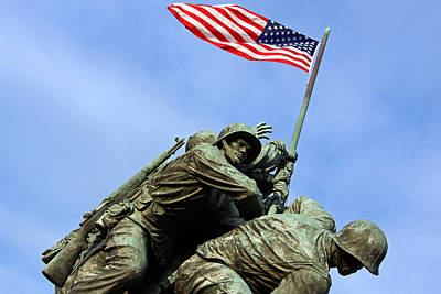 Photograph - A Clear Shot Of One Man's Face At Iwo Jima by Cora Wandel