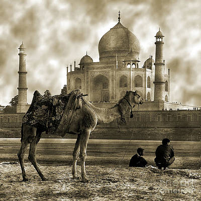 Tajmahal Photograph - One Moment In Time by Mukesh Srivastava