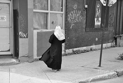 Montreal Streets Photograph - One Moment by Reb Frost