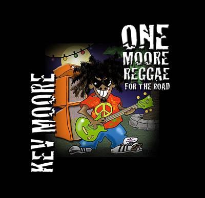 One Moore Reggae Art Print