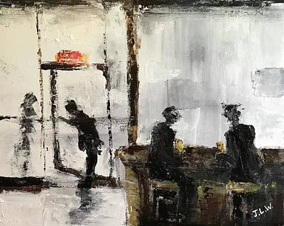 Painting - One More Drink by Justin Lee Williams