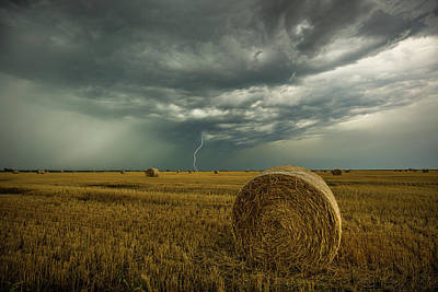 Art Print featuring the photograph One More Time A Round by Aaron J Groen