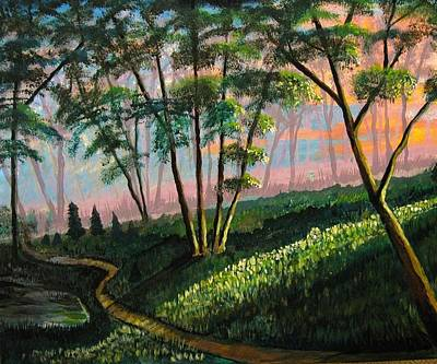 Painting - One Morning Past Daybreak by Mike Benton
