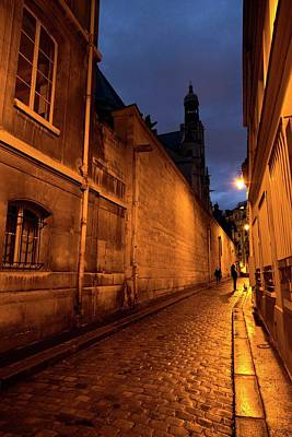 Photograph - One Night In Paris  by Hany J