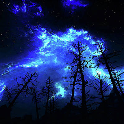 Painting - One Night Under The Stars by Andrea Mazzocchetti