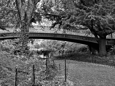 Photograph - One Of 27 Bridges And Archways Of Central Park by Rob Hans