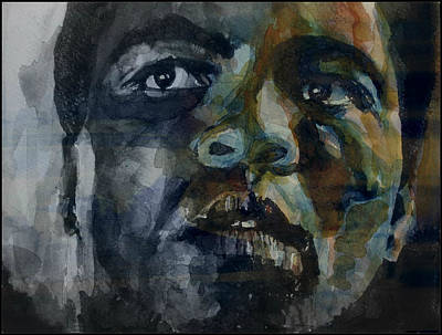 Black Face Painting - One Of A Kind  by Paul Lovering