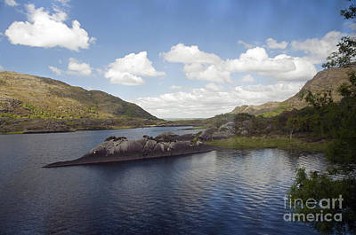Photograph - One Of The Lakes Of Killarney by Cindy Murphy - NightVisions